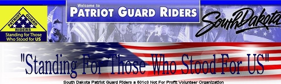 South Dakota Patriot Guard Riders - Patriot Guard Riders, Patriot Guard Riders South Dakota